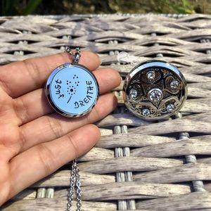 Jewelry - Dandelion Inspirational Aromatherapy Necklace Set